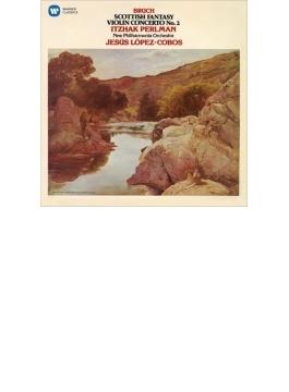 スコットランド幻想曲、ヴァイオリン協奏曲第2番 パールマン、ロペス=コボス&ニュー・フィルハーモニア管