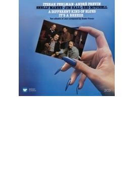 『ディファレント・カインド・オブ・ブルース』、『イッツ・ア・ブリーズ』 プレヴィン、パールマン、シェリー・マン、ジム・ホール、レッド・ミッチェル(2CD)