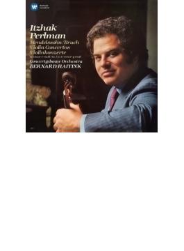 メンデルスゾーン:ヴァイオリン協奏曲、ブルッフ:ヴァイオリン協奏曲第1番 パールマン、ハイティンク&コンセルトヘボウ管