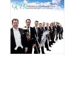 Ensemble De Cuivres De Belgique Becquet(Tb): Canzon