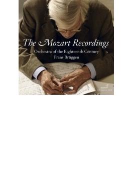 『モーツァルト・レコーディングス』 ブリュッヘン&18世紀オーケストラ(8CD)(ボーナスCD付)
