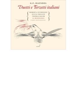 イタリア語二重唱、三重唱曲集 インヴェルニッツィ、フリガート、C.アダム、T.バウアー、ラ・リゾナンサ