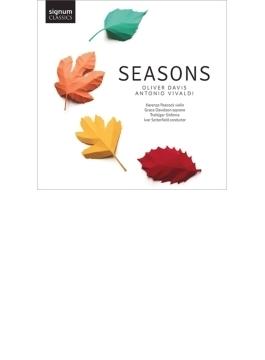 『シーズンズ~ヴィヴァルディ:四季、オリヴァー・デイヴィス:アンノ』 K.ピーコック、セッターフィールド&トラファルガー・シンフォニア