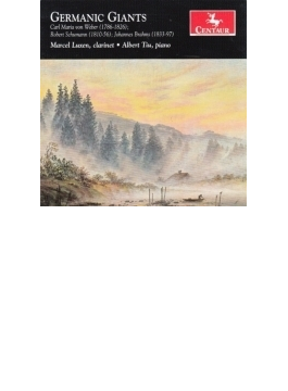 Clarinet Sonata, 1, 2, : Luxen(Cl) Albert Tiu(P) +schumann, C.m.von Weber