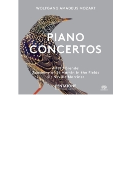 ピアノ協奏曲第12番、第17番 アルフレート・ブレンデル、マリナー&アカデミー室内管弦楽団