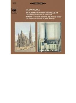 モーツァルト:ピアノ協奏曲第24番、シェーンベルク:ピアノ協奏曲 グレン・グールド、ジュスキント、クラフト、CBC交響楽団