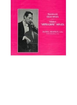 Arpeggione Sonata: Shafran(Vc) Pecherskaya(P) +shostakovich: Cello Sonata (Ltd)