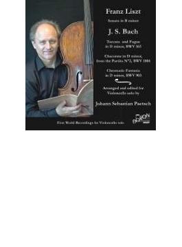 ピアノ・ソナタ ロ短調(無伴奏チェロ版)、他  ヨハン・セバスチャン・ペイチ(チェロ)