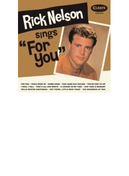 Rick Nelson Sings For You (Pps)