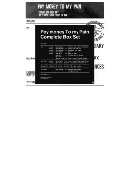 Pay money To my Pain -L-【生産限定盤】 (CD+Blu-ray+アナログ+TシャツLサイズ)