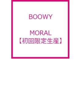 MORAL 【初回限定生産】