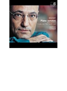 ピアノ・ソナタ第10番、第11番『トルコ行進曲付き』、第12番 アンドレアス・シュタイアー(フォルテピアノ)