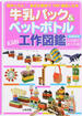 牛乳パック&ペットボトルKids工作図鑑 超かんたん!身近な素材で100倍楽しむ本 図書館版