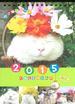 かご猫シロと季節の花