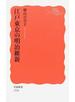 江戸東京の明治維新