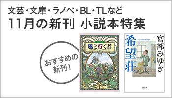 11月の新刊小説本特集