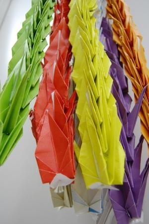 ずっと折り鶴、ずっと折り紙