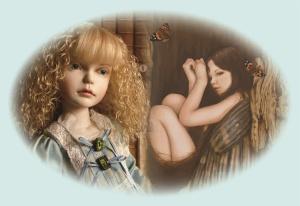 人形と絵の「春」展
