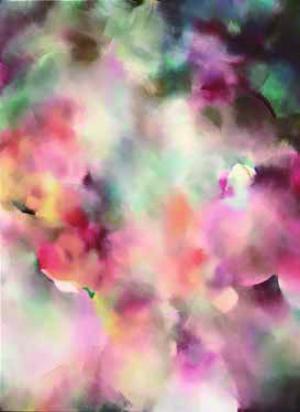 Singing in harmony amongst flowers~花の中で唱う~ RHEA STANDKE × 永山裕子 永山裕子「透明水彩テクニックー手順ー」グラフィック社刊 出版記念