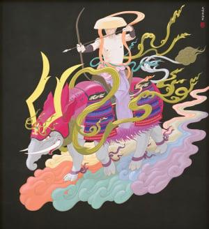 〇-美しい畸形- 画強 天明屋尚 版画展