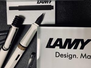 ラミー「サファリ ホワイト」より、ブラッククリップの限定ver.が登場!