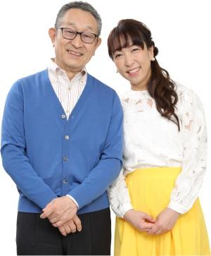 ABCラジオカレンダー2020発売記念 道上洋三さん 野村朋未さん サイン会