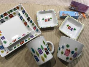 棒田和義 陶板アート展