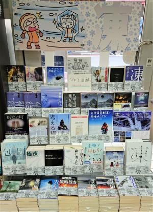 暖かい部屋で「凍える本」を読んでみませんか?