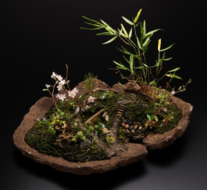 奥泉幸子 作品展 ― 樹脂粘土で創る野草 ー