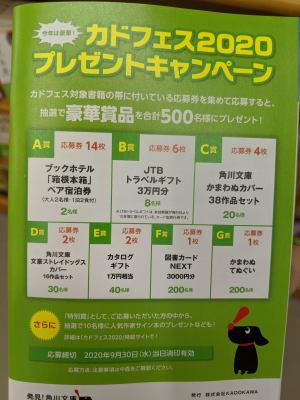 【3F文庫・新書】カドフェス 2020
