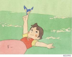 ○小田部羊一が描く「アルプスの少女ハイジ」の世界展