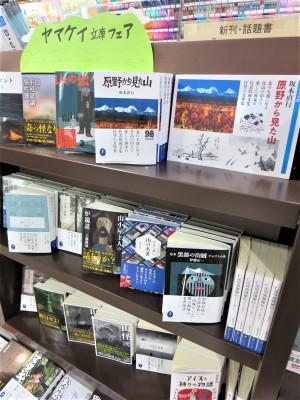 山と自然を愛するひとへ。ヤマケイ文庫フェア