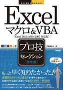 今すぐ使えるかんたんEx Excelマクロ&VBA[決定版]プロ技セレクション [Excel 2013/2010/2007対応版]