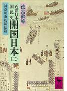 近世日本国民史 開国日本(三) 神奈川条約締結篇
