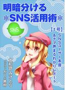 明暗分けるSNS活用術~【1号】SNSユーザー本音&ナマ声まるわかりレポート~
