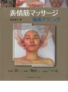 表情筋マッサージ施術テクニック