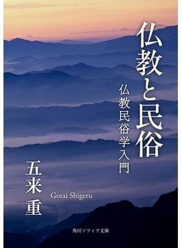 仏教と民俗 仏教民俗学入門(角川ソフィア文庫)