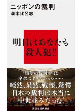 ニッポンの裁判(講談社現代新書)
