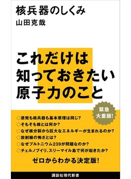 核兵器のしくみ(講談社現代新書)