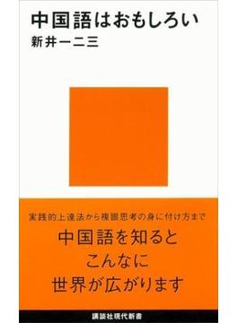 中国語はおもしろい(講談社現代新書)