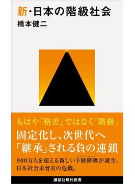 新・日本の階級社会(講談社現代新書)
